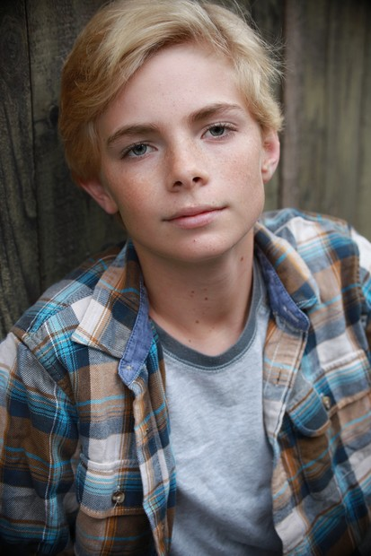 Blonde teen model star